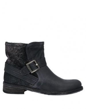 Полусапоги и высокие ботинки FELMINI. Цвет: черный