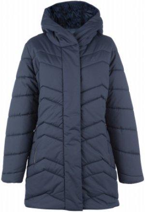 Куртка утепленная женская Jack Wolfskin Kyoto, размер 50. Цвет: синий