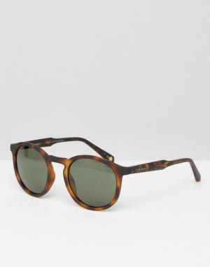 Круглые солнцезащитные очки -Коричневый Ted Baker