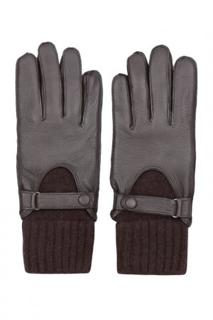 Перчатки Eleganzza. Цвет: т коричневый, шерсть