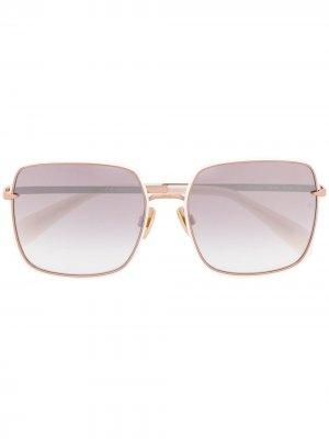 Square-frame sunglasses RAG & BONE EYEWEAR. Цвет: белый