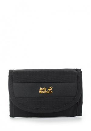 Кошелек Jack Wolfskin JA021BUAOQF4. Цвет: черный