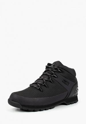 Ботинки трекинговые Timberland EURO SPRINT FABRIC W JET BLACK. Цвет: черный