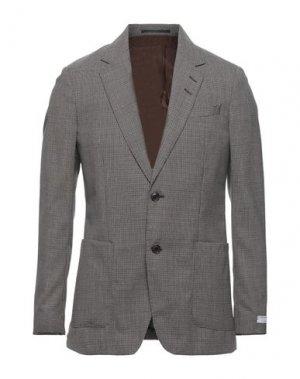 Пиджак TIGER OF SWEDEN. Цвет: коричневый
