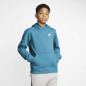 Худи для школьников Sportswear Club - Синий Nike