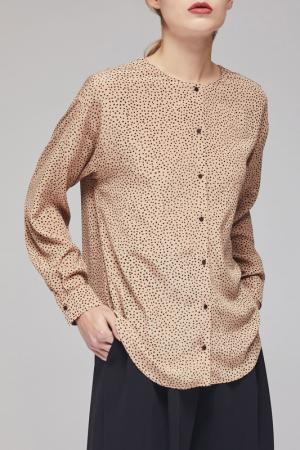 Блуза Charuel. Цвет: бежевый