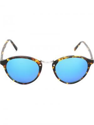 Солнцезащитные очки Audacia Spektre. Цвет: коричневый