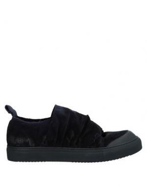 Низкие кеды и кроссовки BLACK LABEL. Цвет: темно-синий