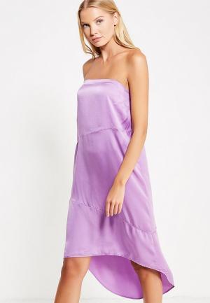 Платье Sacks Sack's. Цвет: фиолетовый