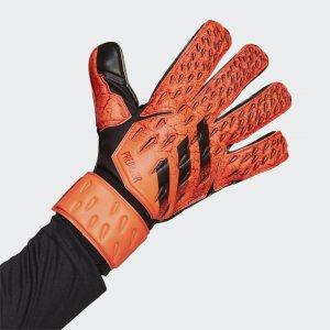 Вратарские перчатки Predator Match Performance adidas. Цвет: красный