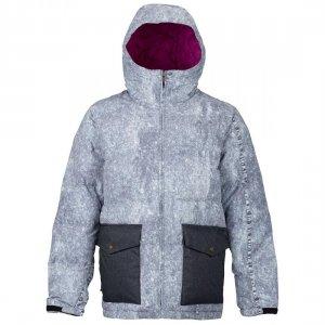 Куртка для сноуборда Kilroy Analog. Цвет: серый