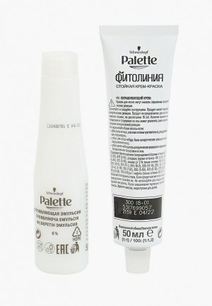 Краска для волос Palette ФИТОЛИНИЯ, 300, светло-русый, 110 мл. Цвет: белый