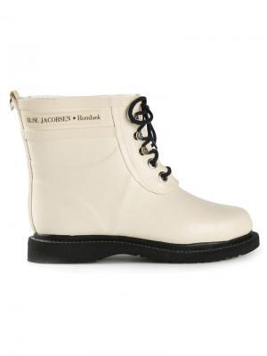 Ботинки Ilse Jacobsen. Цвет: белый