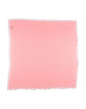 Платок GUCCI. Цвет: пастельно-розовый