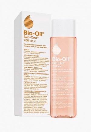 Масло для тела Bio Oil от шрамов, растяжек неровного тона, 200 мл. Цвет: прозрачный