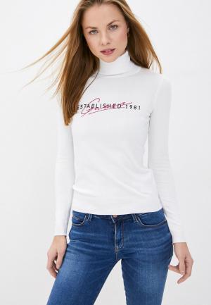 Водолазка Guess Jeans. Цвет: белый