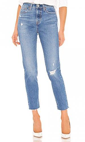 Зауженные джинсы wedgie icon fit LEVIS LEVI'S. Цвет: none