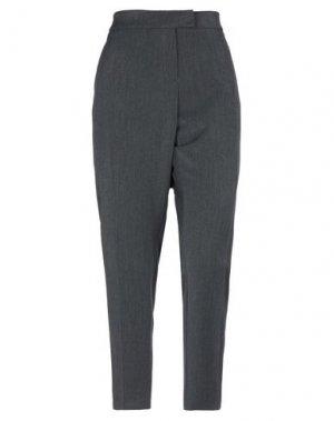 Повседневные брюки CLIPS. Цвет: свинцово-серый
