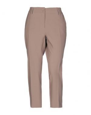 Повседневные брюки HOTEL PARTICULIER. Цвет: коричневый
