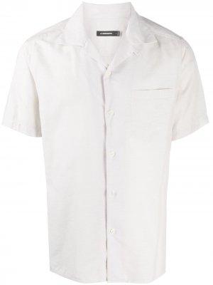 Рубашка с карманом J Lindeberg. Цвет: нейтральные цвета