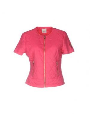 Куртка MAISON ESPIN. Цвет: фуксия