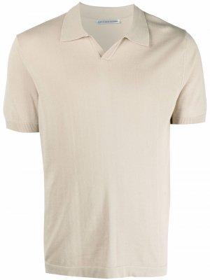 Рубашка поло с короткими рукавами Grey Daniele Alessandrini. Цвет: нейтральные цвета