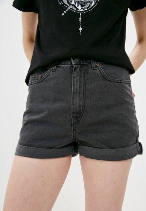 Шорты джинсовые Roxy. Цвет: серый