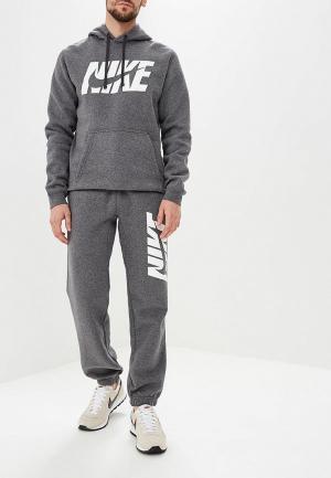 Костюм спортивный Nike Sportswear. Цвет: серый