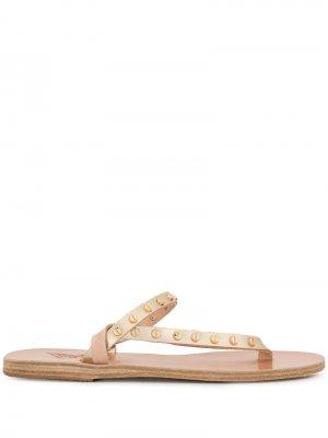 - Для нее Ancient Greek Sandals. Цвет: серебристый