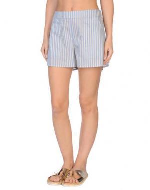 Пляжные брюки и шорты GRAZIA'LLIANI SOON. Цвет: лазурный