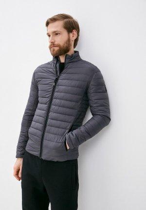 Куртка утепленная Indicode Jeans Adamo. Цвет: серый