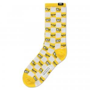 Носки Vans X Simpsons Check Eyes. Цвет: желтый