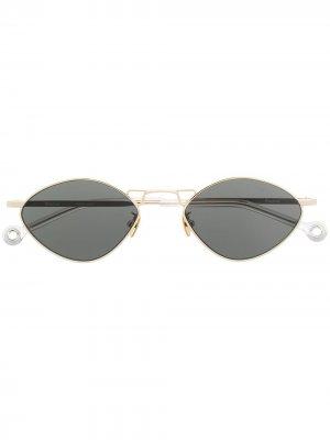 Солнцезащитные очки Dream Etudes. Цвет: золотистый