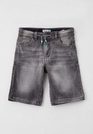 Шорты джинсовые Sela. Цвет: серый