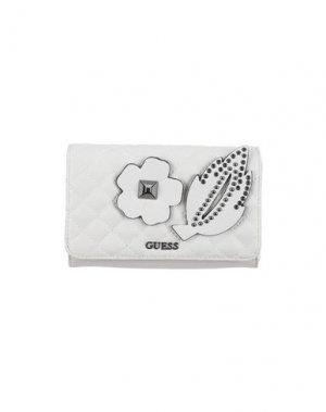 Бумажник GUESS. Цвет: светло-серый
