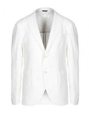 Пиджак GAZZARRINI. Цвет: белый