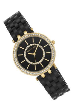Часы наручные Anne Klein. Цвет: черный, золотой