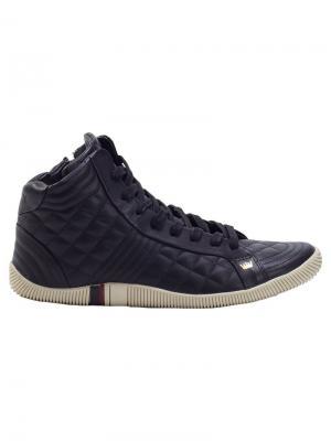 Quilted hi-top sneakers Osklen. Цвет: черный
