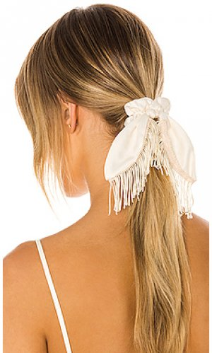Резинка для волос Ettika. Цвет: ivory
