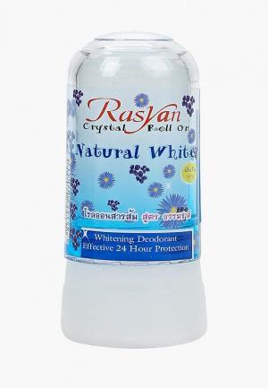 Дезодорант Ras Yan кристалл натуральный, 80 г. Цвет: прозрачный
