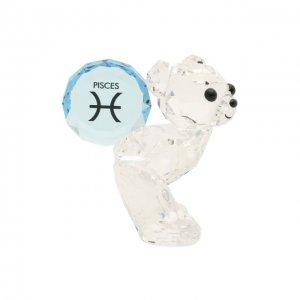 Скульптура Kris bear Pisces Swarovski. Цвет: прозрачный
