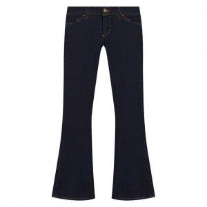 Расклешенные джинсы Designers, Remix girls. Цвет: синий