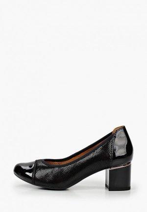 Туфли Caprice с увеличенной полнотой Н. Цвет: черный