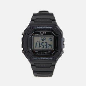 Наручные часы Collection W-218H-1AVEF CASIO. Цвет: чёрный