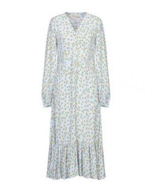Длинное платье byTIMO. Цвет: небесно-голубой