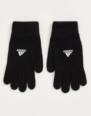 Черные перчатки adidas Tiro Football-Черный цвет performance