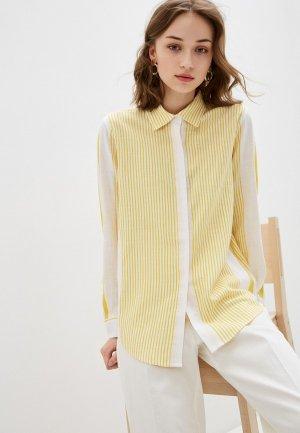 Рубашка Bulmer. Цвет: желтый
