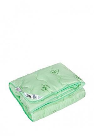Одеяло 1,5-спальное Dream Time. Цвет: зеленый
