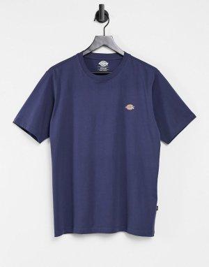 Темно-синяя футболка Mapleton-Темно-синий Dickies