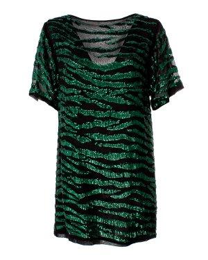 Туника GEBRA720902 xs черный+зеленый P.A.R.O.S.H.. Цвет: черный+зеленый